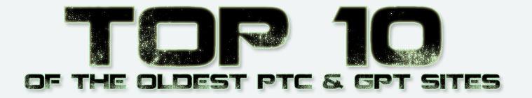 Best Legit PTC & GPT Sites 5 - 15 Years Old